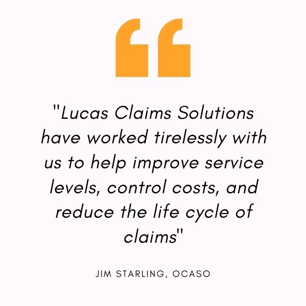 lucas claim solutions testimonial one